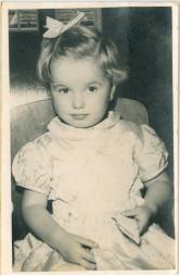 Jocelyn aged 2 at kindergarten party